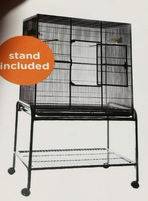 cage and stand