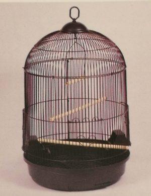 medium round bird cage