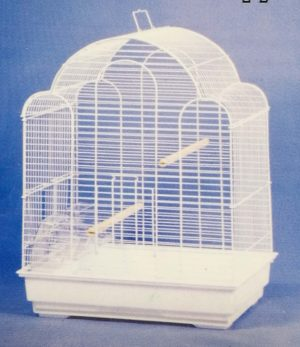 small wave roof bird cage