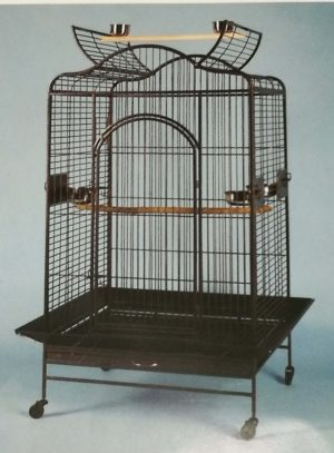 large wave roof bird cage